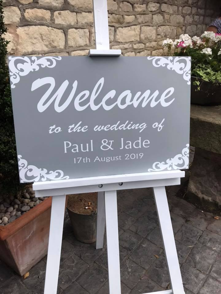 Congratulations Jade and Paul